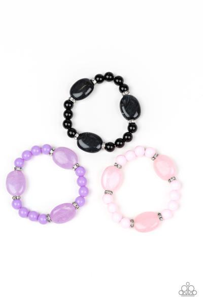 Starlet Shimmer Bracelets - Opaque Beads