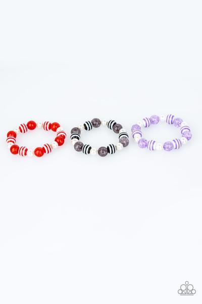 Starlet Shimmer Bracelet - Stripes
