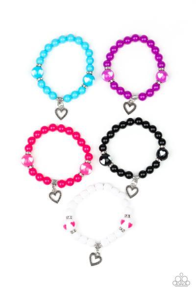 Starlet Shimmer Bracelets - Heart
