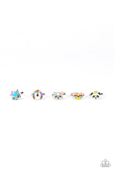Starlet Shimmer Rings - Easter