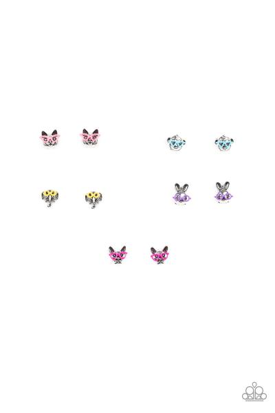 Starlet Shimmer Earrings - Animals In Glasses