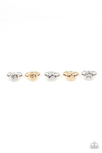 Starlet Shimmer Rings - Animals