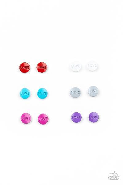 Starlet Shimmer Earrings - Love