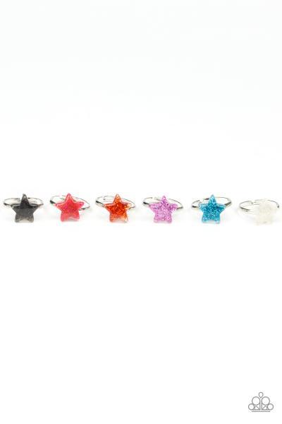 Starlet Shimmer Ring - Glitter Star