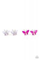 Starlet Shimmer Earrings - Gem Butterflies